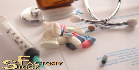 Medical Equipment And Pills VideoHive Stock Footage  Medical 3771836