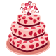 Romantic Cake - GraphicRiver Item for Sale