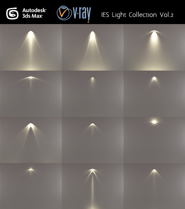 IES Light Collection Vol.2 - 3DOcean Item for Sale