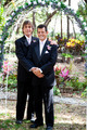 Gay Couple Under Wedding Arch - PhotoDune Item for Sale