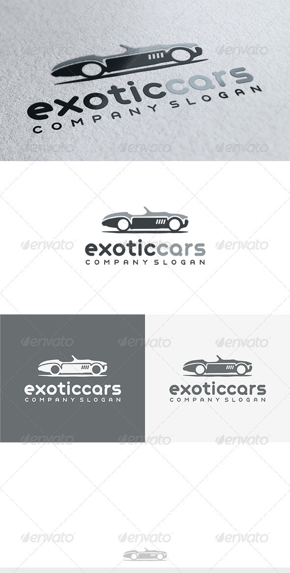 GraphicRiver Exotic Cars Logo 3772227