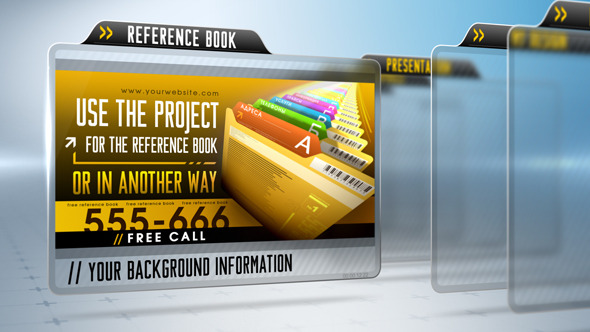 Presentation Project VideoHive  Video Displays  Corporate 3772471