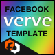 Verve - Facebook Fan Page Template - ActiveDen Item for Sale