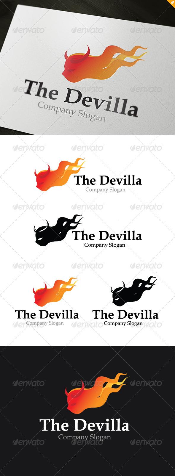 GraphicRiver Devilla Logo 3706477