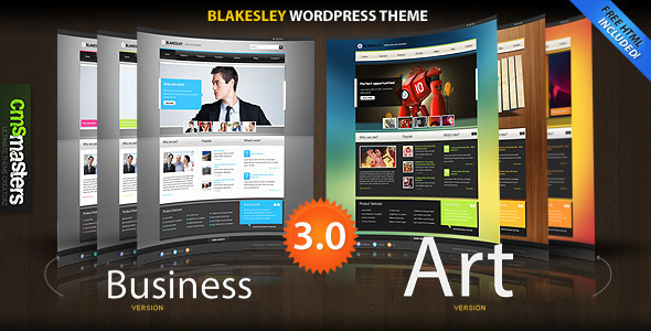 ThemeForest Blakesley Premium Business & Portfolio wordpress 146466
