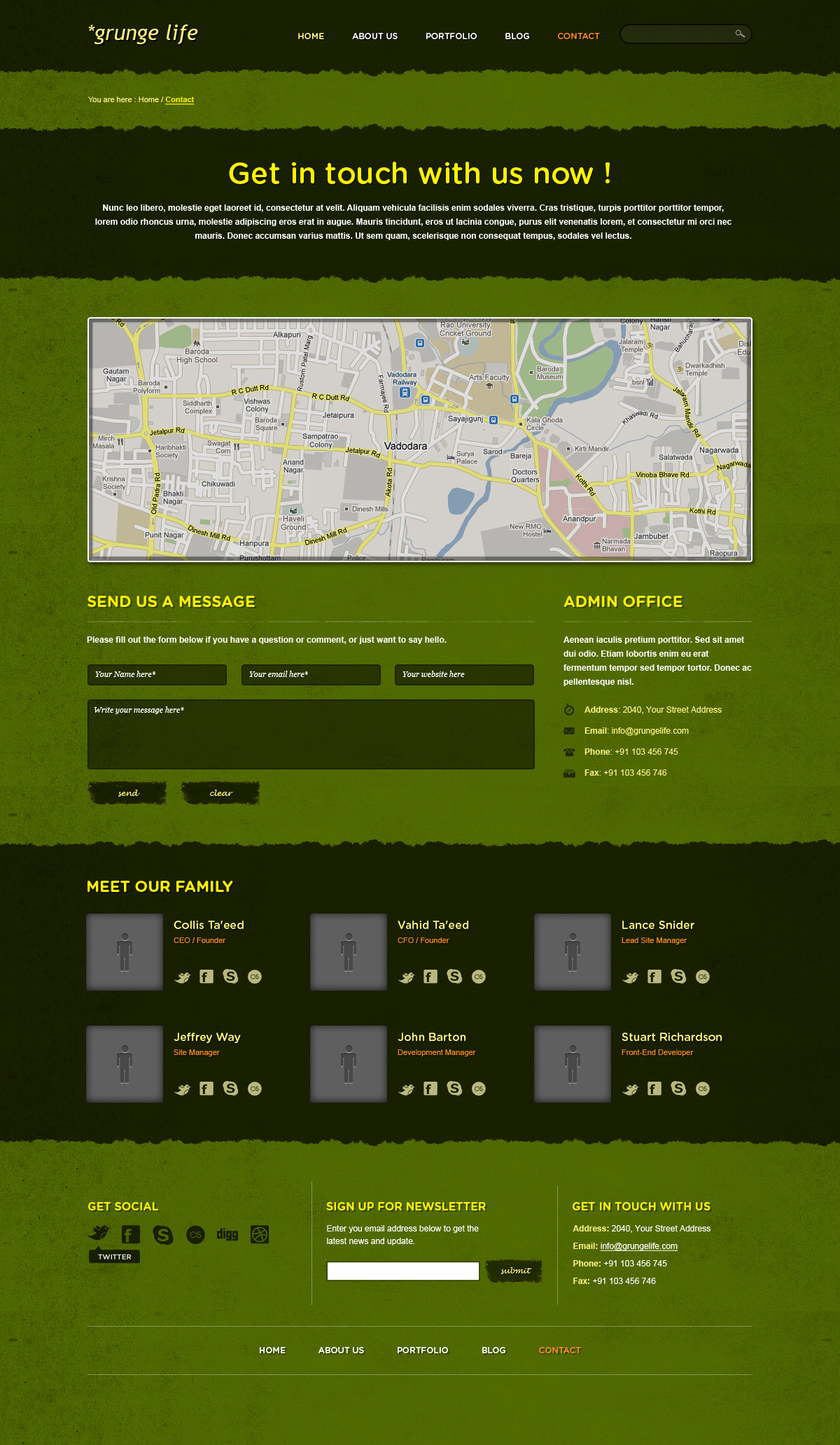 Grunge Life - An Exclusive PSD Theme - Grunge Life is a professionally designed template. Ideal for any small or big design studio that wants to appear professional and modern.