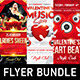 Romantic Music Flyer Bundle - GraphicRiver Item for Sale