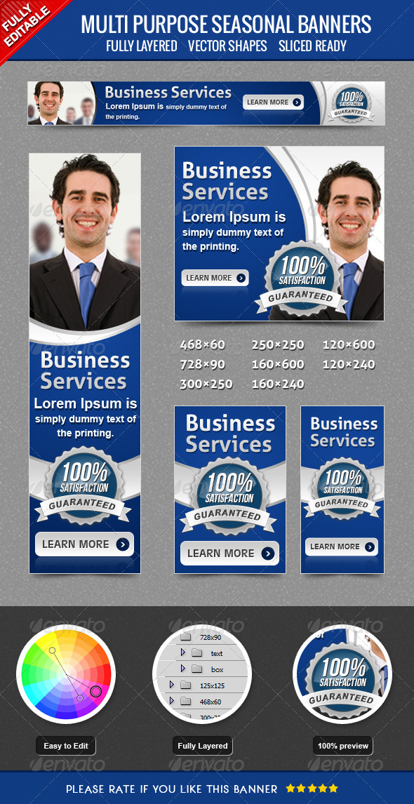 GraphicRiver Business Banner 3774334