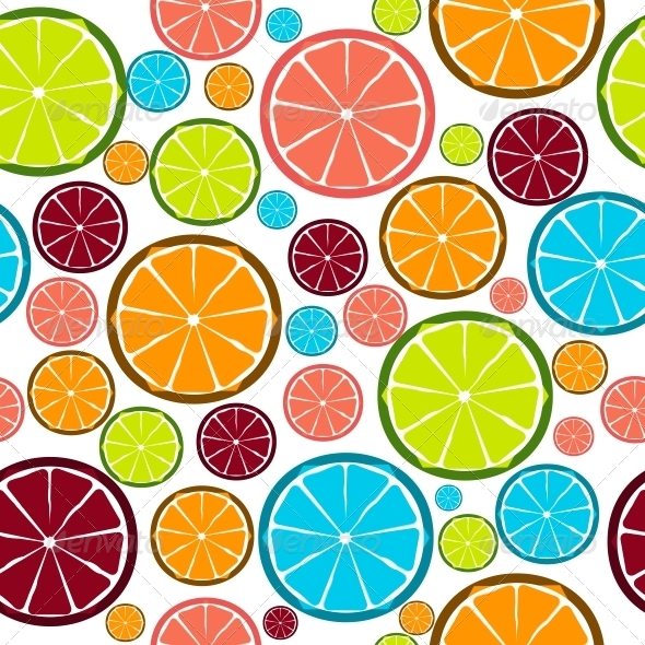 Fruit Design Seamless Pattern