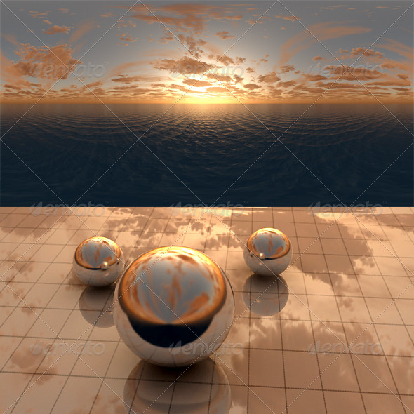 3DOcean Sea Sunset f1 406485