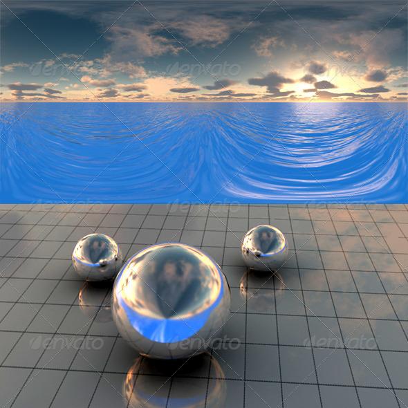3DOcean Sea Sunset f2 406488
