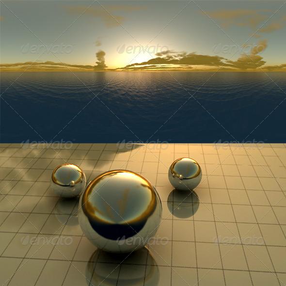 3DOcean Sea Sunset f3 406492