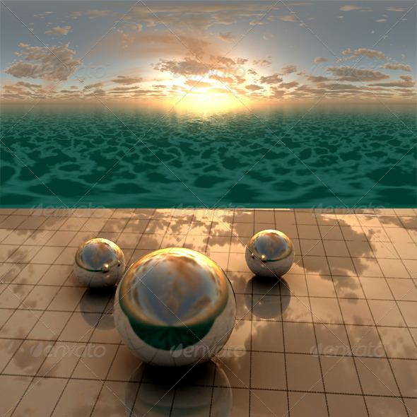 3DOcean Sea Sunset f6 406522