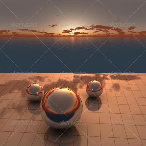3DOcean Sea Sunset f7 406531