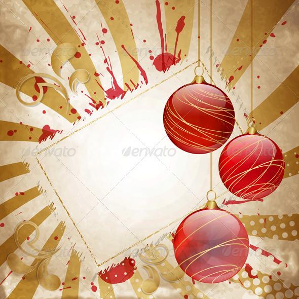 GraphicRiver Vintage Christmas 3775275
