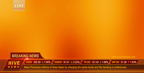 After Effects Project - VideoHive Live Breaking News 406056