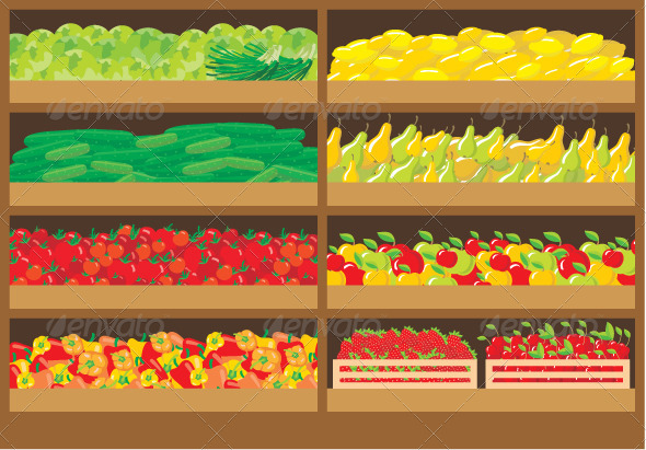 GraphicRiver Vegetable Shop 3776056