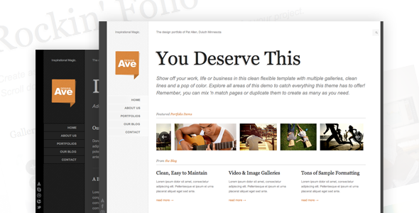 Design Avenue - HTML/CSS Template