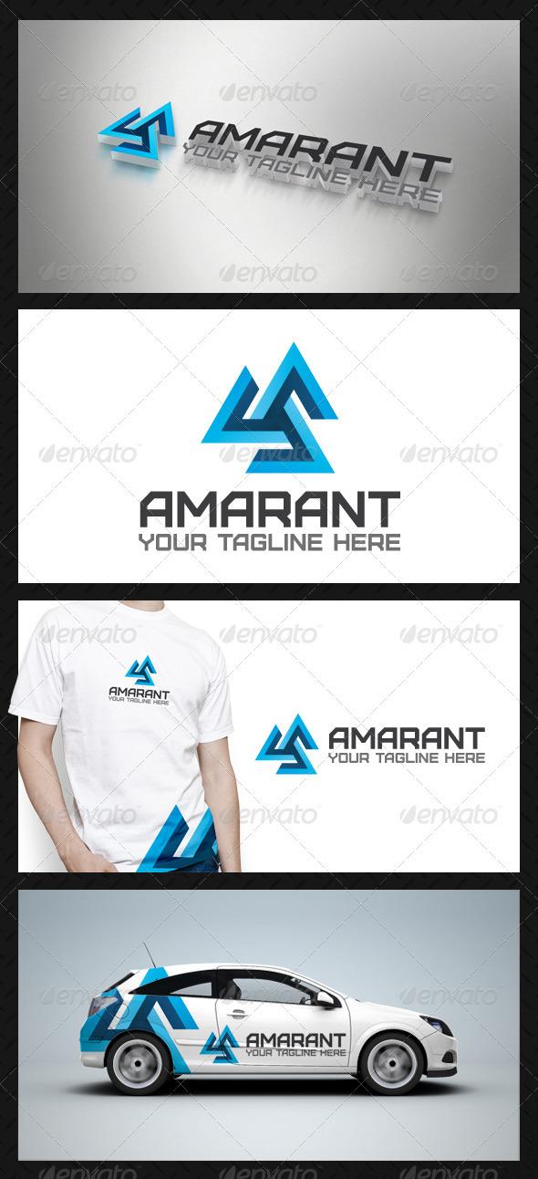 GraphicRiver Amarant Tech Logo Template 3777332