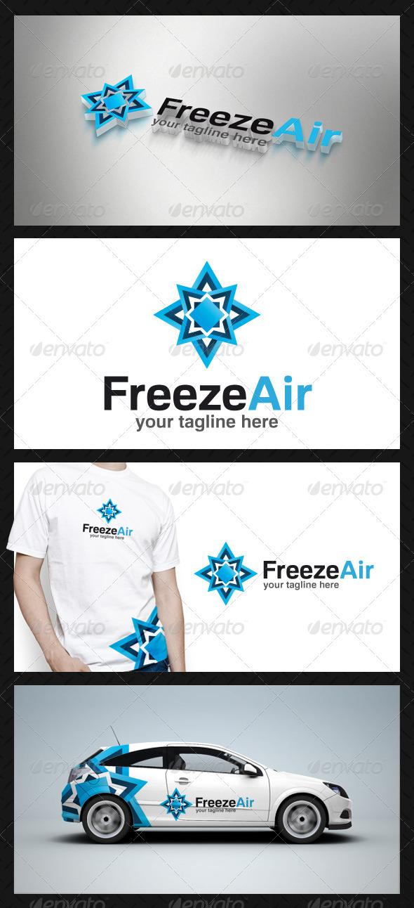 GraphicRiver Freeze Air Logo Template 3777361