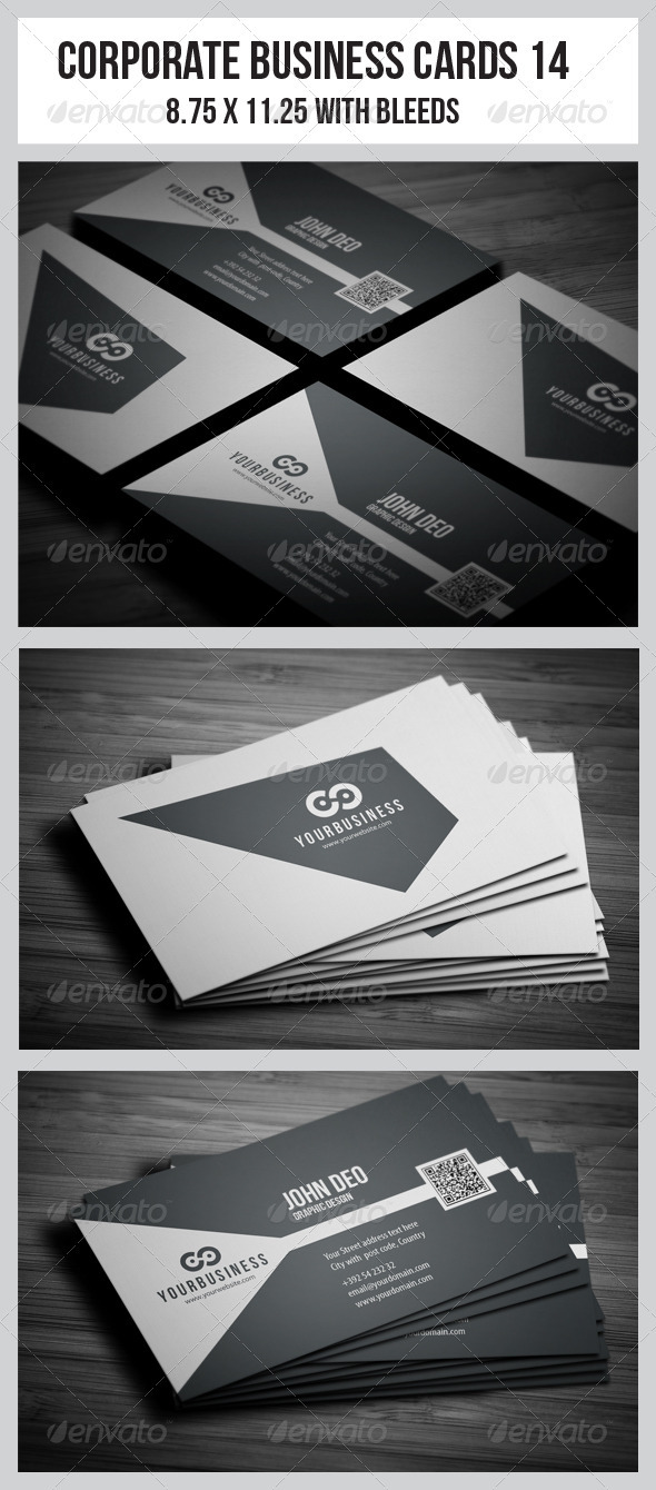 GraphicRiver Corporate Business Cards 14 3777473