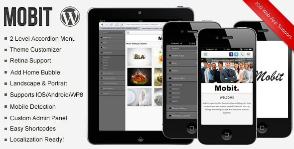 Mobit Premium Modern Mobile Theme
