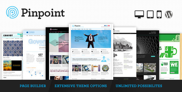 Pinpoint WordPress Theme