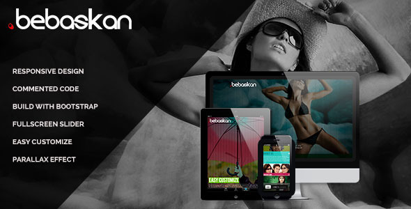 ThemeForest Bebaskan Responsive One Page HTML5 3719884