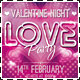 Valentine Night - Love Party Flyer - GraphicRiver Item for Sale