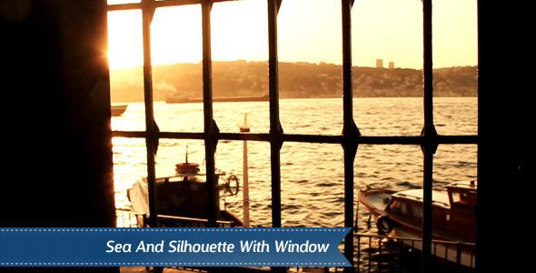 Mosque Window Silhouette