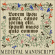 Medieval Illuminated Page - GraphicRiver Item for Sale