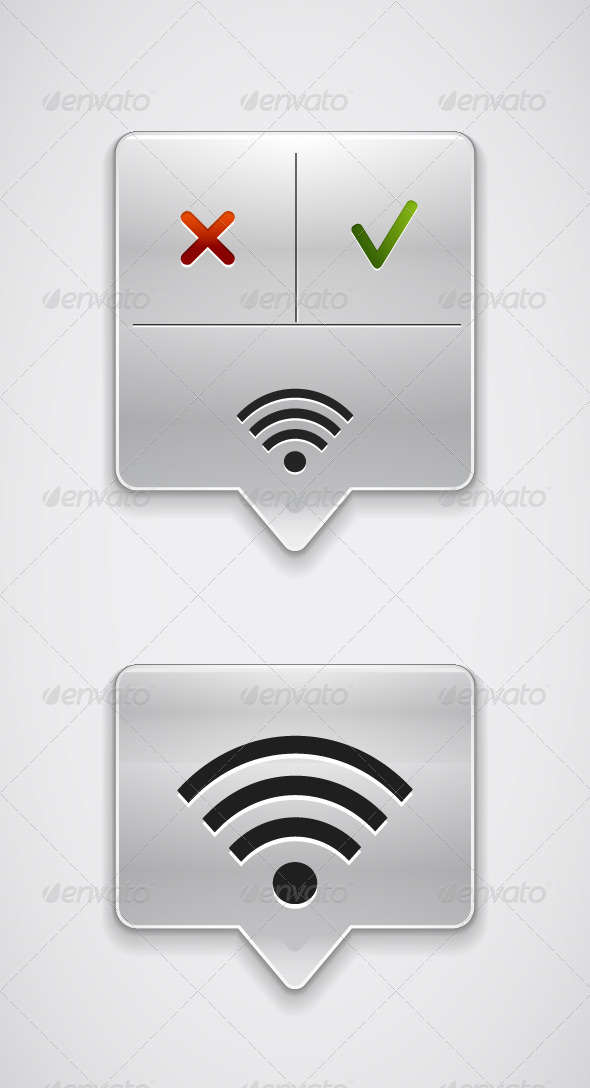 GraphicRiver Vector Wi-Fi Pointers 3780758