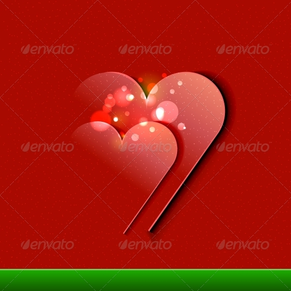GraphicRiver Vector Valentine s Day Card design EPS10 illustr 3780761