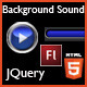 JQuery Plugged HTML5 Background Sound