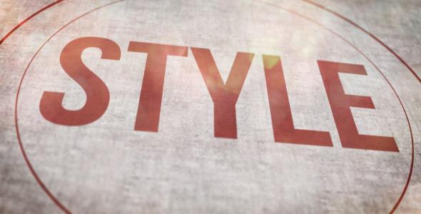 Typography Ident