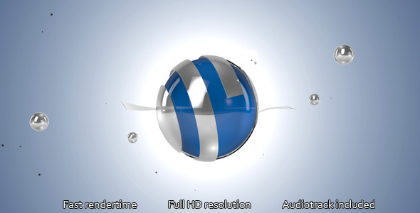 Spherical 3D Logo Opener