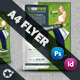 Fitness Center Business Flyer - GraphicRiver Item for Sale