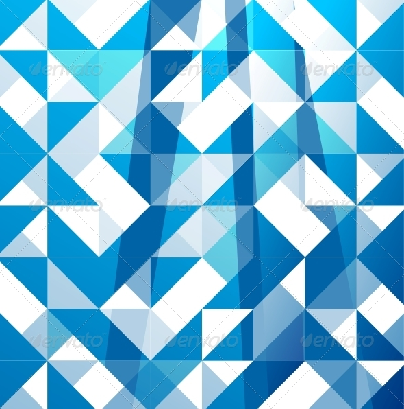 GraphicRiver Blue Modern Geometric Design Background 3782888