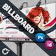 Beauty Salon Business Billboard Roll-up