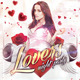 Lovers Night / Valentine´s Day  | Flyer + Fb Cover - GraphicRiver Item for Sale