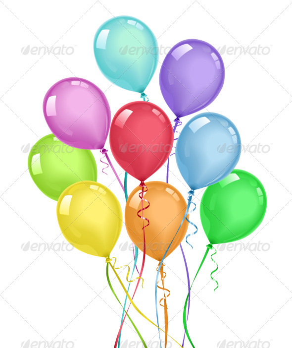 GraphicRiver Balloons 3783585