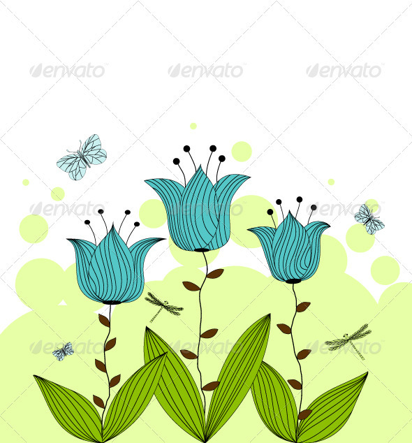 GraphicRiver Bellflowers 3783611