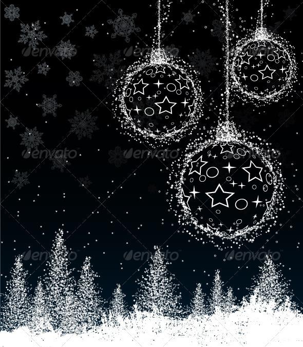 GraphicRiver Winter composition 3783637