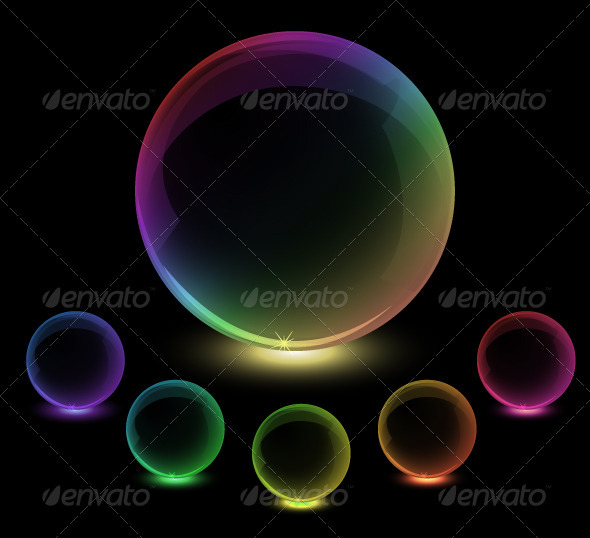 GraphicRiver Colorful globes 3783655