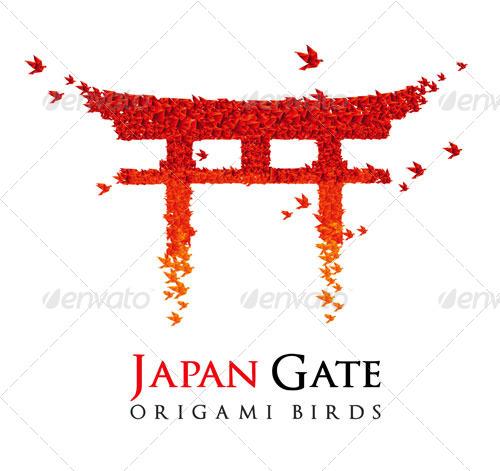 Origami - Gate Torii