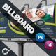 Green Life Business Billboard Roll-Up
