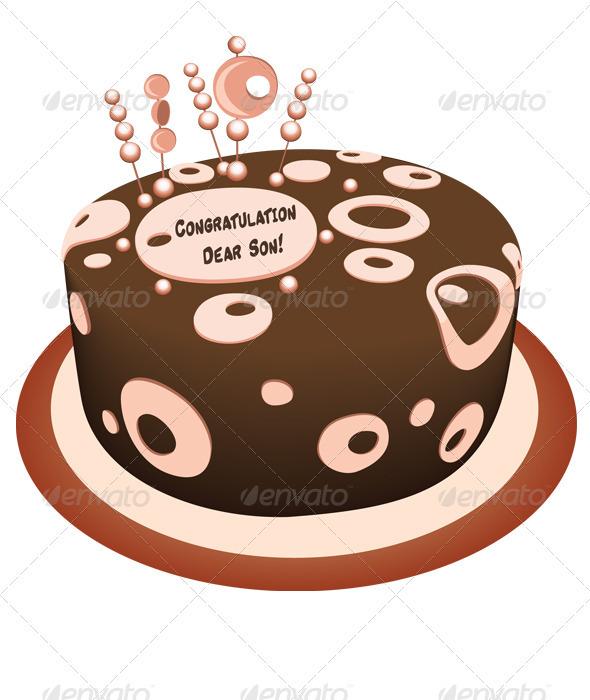 GraphicRiver Cake 3784681