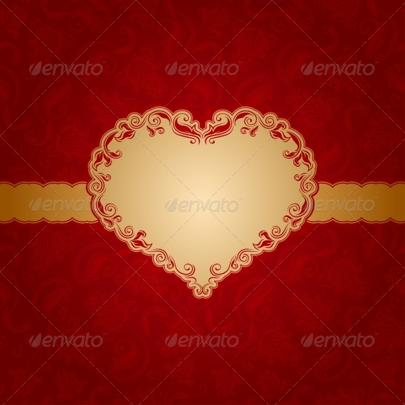 GraphicRiver Template frame design for greeting card 3785448