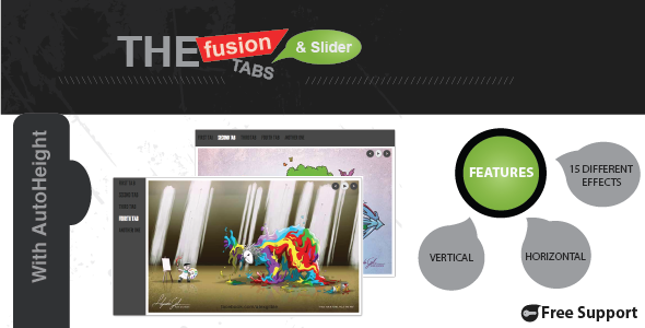 CodeCanyon The Fusion of Tabs and Slider with jQuery 3785796