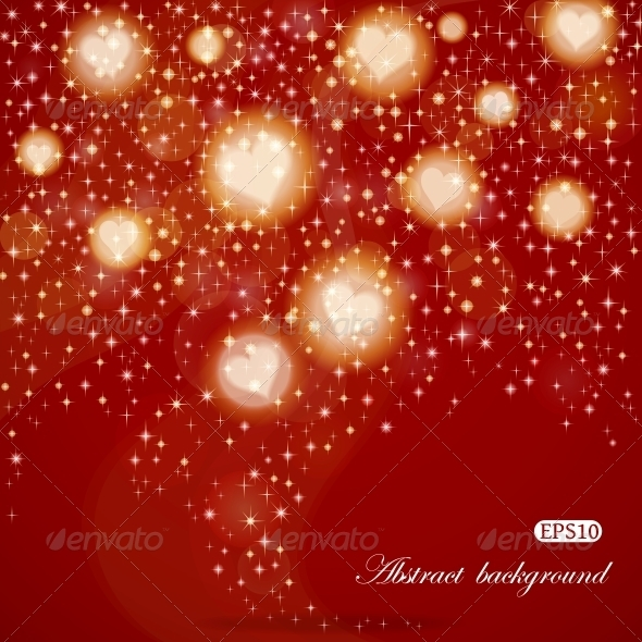 GraphicRiver Abstract Valentine s Day background 3786375